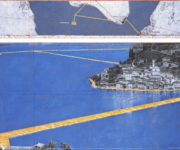 Christo und Jeanne-Claude The Floating Piers Iseosee