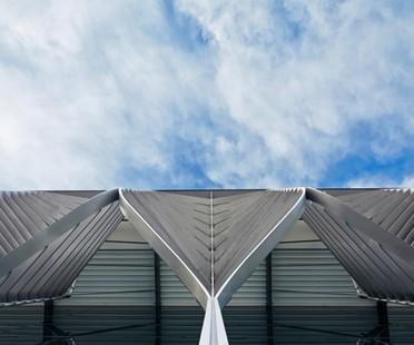 Zaha Hadid Architects NürnbergMesse Halle 3C