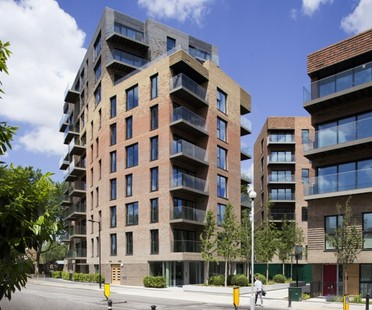 dRMM Architects Wohnanlage Trafalgar Place London