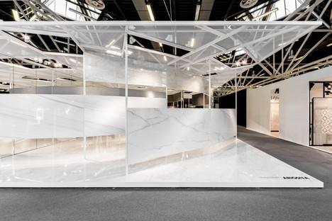Ariostea Twister Pavilion Oberflächen Ultra für Cersaie 2016