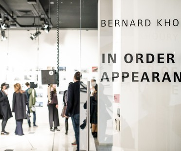Inaugurata la mostra Bernard Khoury a SpazioFMGperl'Architettura