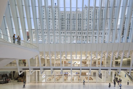 Bohlin Cywinski Jackson Apple Store in the World Trade Center Oculus