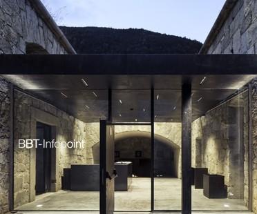 Markus Scherer Infopoint BBT Restaurierung Festung Franzensfeste (Bozen)
