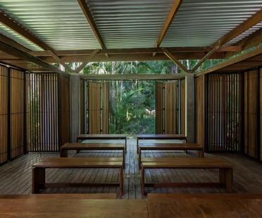 Apiacás Arquitetos Pavilion Una in Barra do Una Brasilien