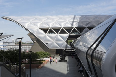 Foster + Partners Crossrail Place - Canary Wharf London