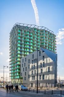 Maison Edouard François M6B2 Turm für Artenvielfalt in Paris