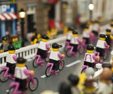 Mailand und Rom, zwei Ausstellungen mit LEGO-Steinen