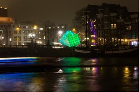 UNStudio Eye_Beacon, Amsterdam Light Festival