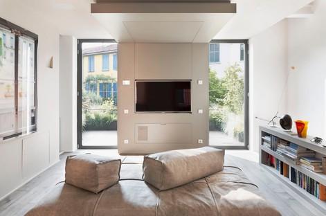 Westway Achitects vertikales Loft in Mailand