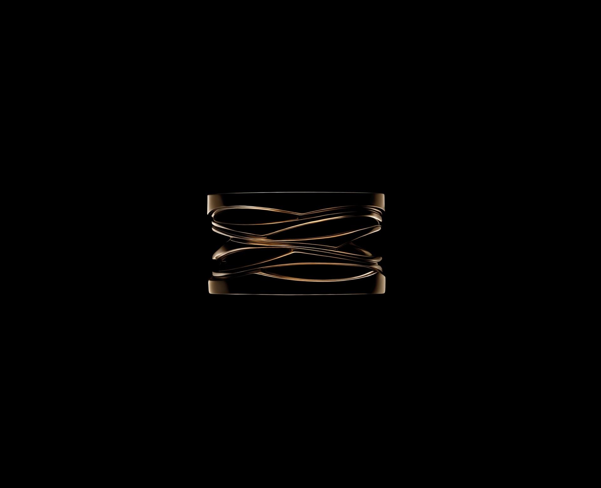 B.zero1 Design Legend der Ring nach dem Entwurf von Zaha Hadid
