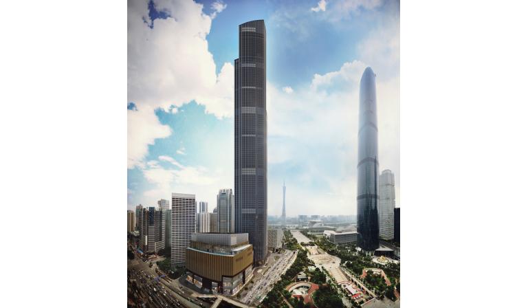 Guangzhou CTF Finance Centre 2 Wolkenkratzer China