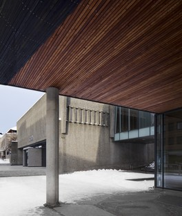 Snøhetta Erweiterung des Lillehammer Art Museum und Lillehammer Cinema