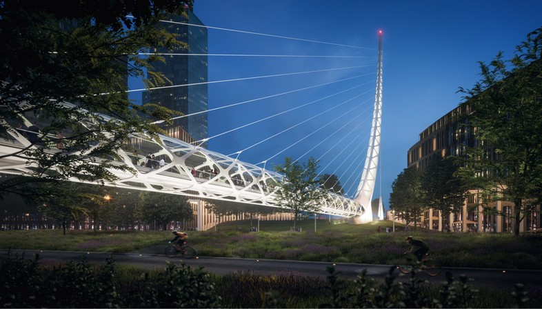 Santiago Calatrava verwandelt Greenwich Peninsula London