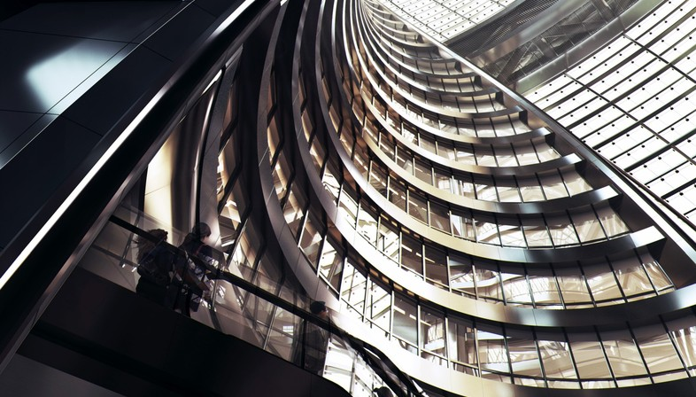 Zaha Hadid Architects Hochhaus Leeza SOHO Peking