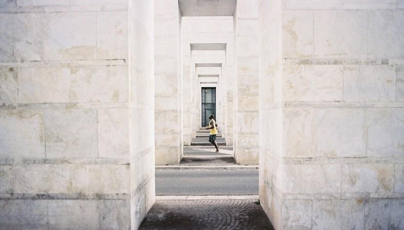 Maxxi installazione  Nina Fischer & Maroan el Sani FREEDOM OF MOVEMENT