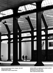 Ausstellung Rafael Moneo Theorie anhand der professionellen Praxis