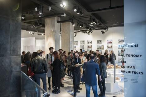 Sechs koreanische Architekten in SpazioFMG