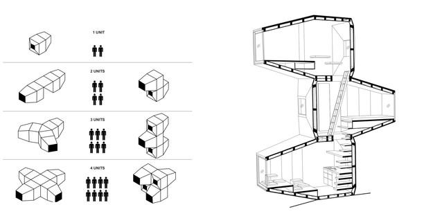 OFIS, C+C, C28 und AKT Living Unit Milano Design Week