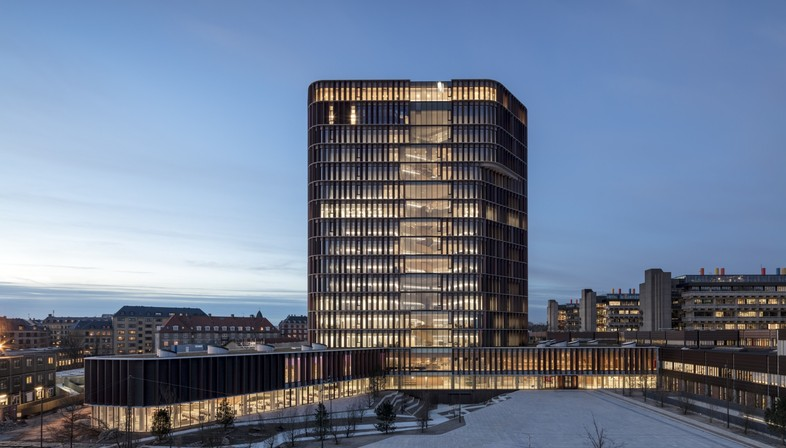 C.F. Møller Architects Maersk Tower neue Landmarke in Kopenhagen