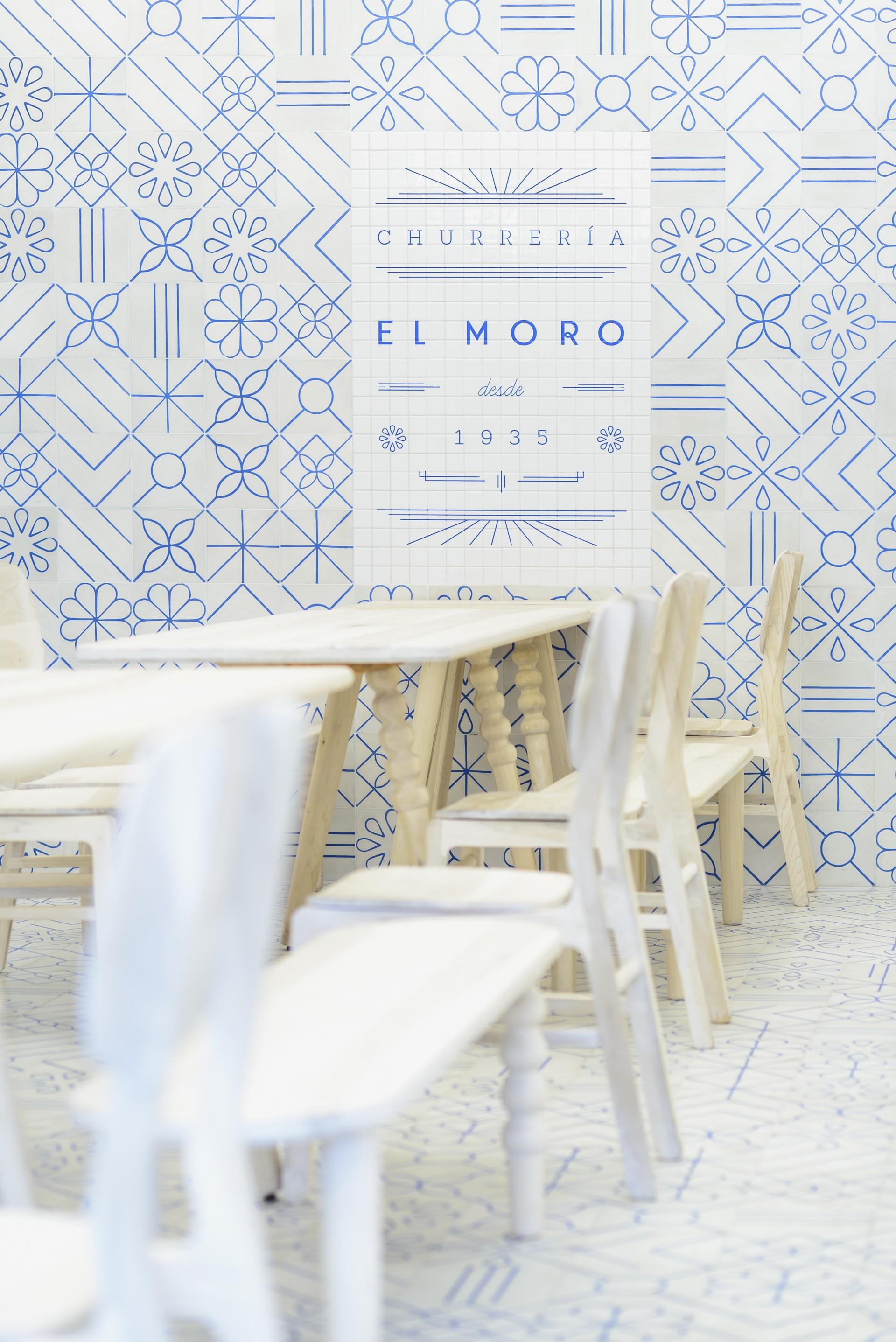 Cadena Asociados für El Moro, Churros desde 1935