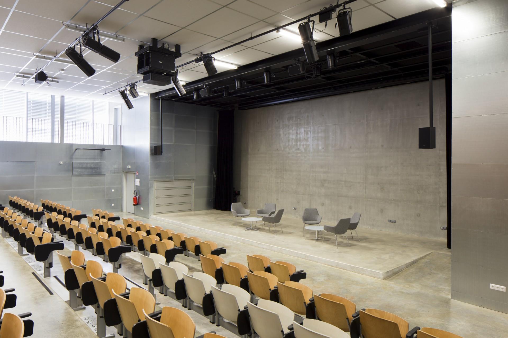BLOCK architectes Etoile Forschungszentrum des Wissenschaftspols von Évry