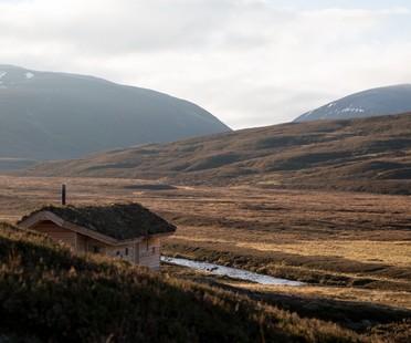 Moxon Architects eine moderne Hütte in den schottischen Highlands