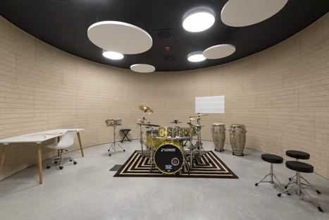 Mario Cucinella Architects Das Haus der Musik in Pieve di Cento eröffnet