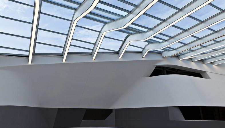 Zaha Hadid Architects Hochgeschwindigkeitsbahnhof Afragola Neapel