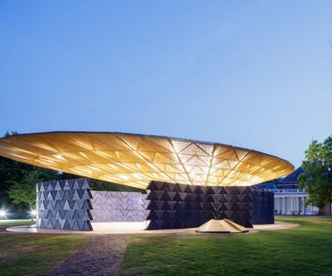 Inaugurato il Serpentine Pavilion di Diébédo Francis Kéré