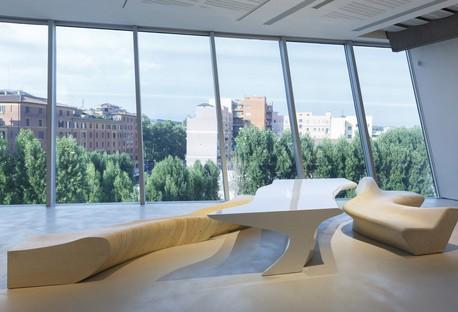 Maxxi Ausstellung L'Italia di Zaha Hadid