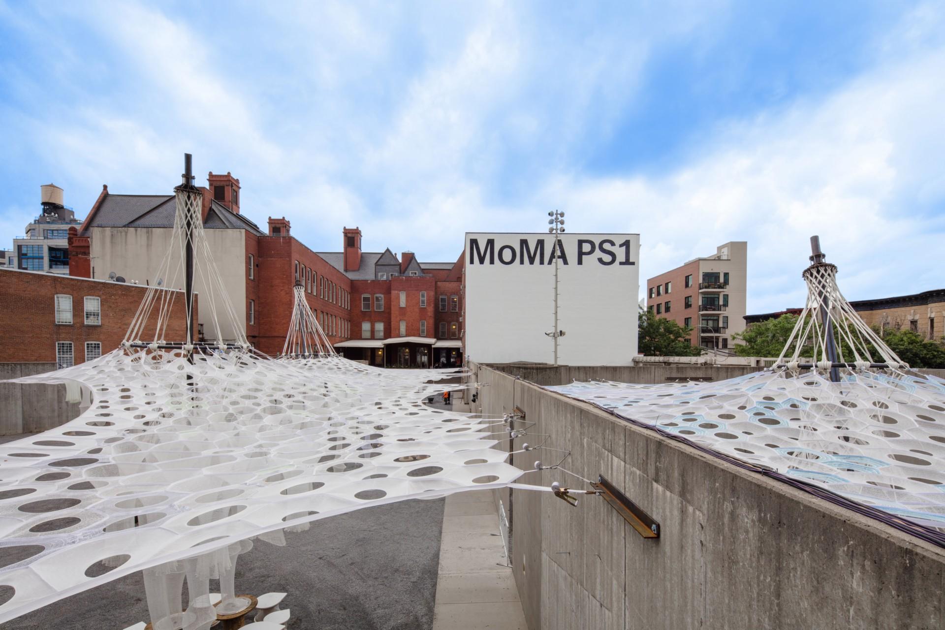 Jenny Sabin Studio Lumen YAP MoMA PS1