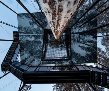 Snøhetta Treehotel The 7th Room Ferien auf dem Baum