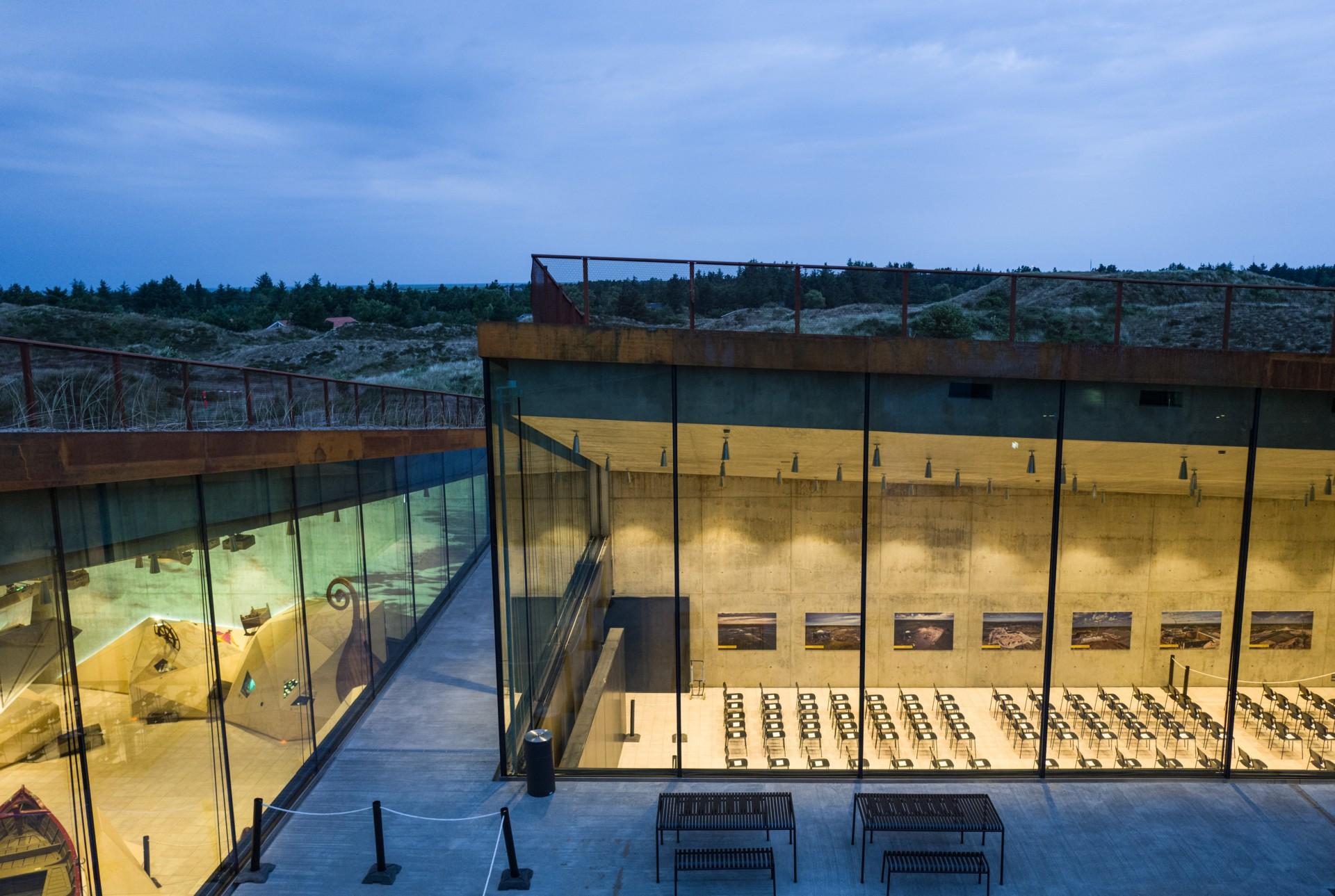 BIG Bjarke Ingels Group Tirpitz das unsichtbare Museum in Dänemark