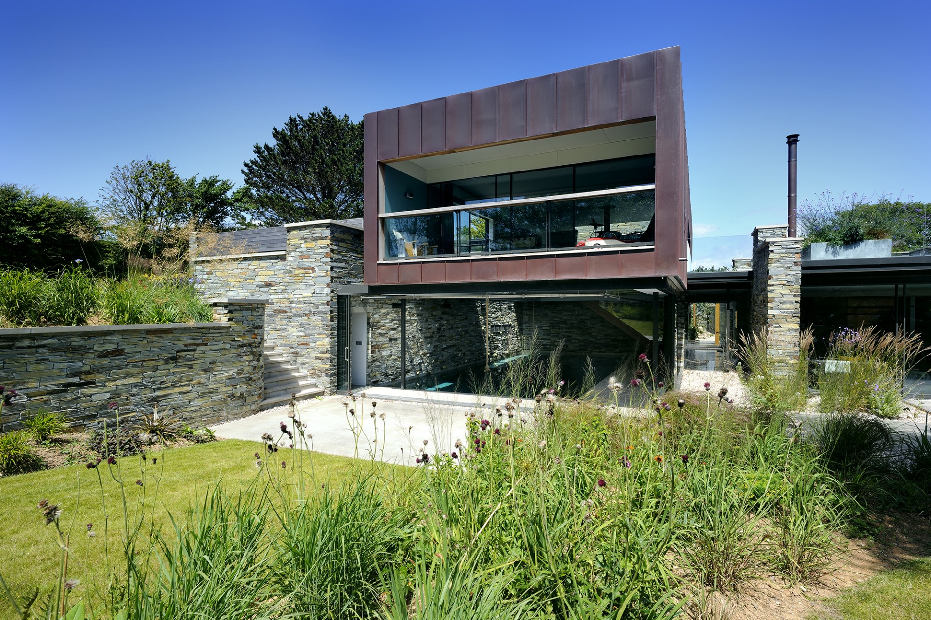 Stan Bolt Architect Haus auf einem Kap in Devon