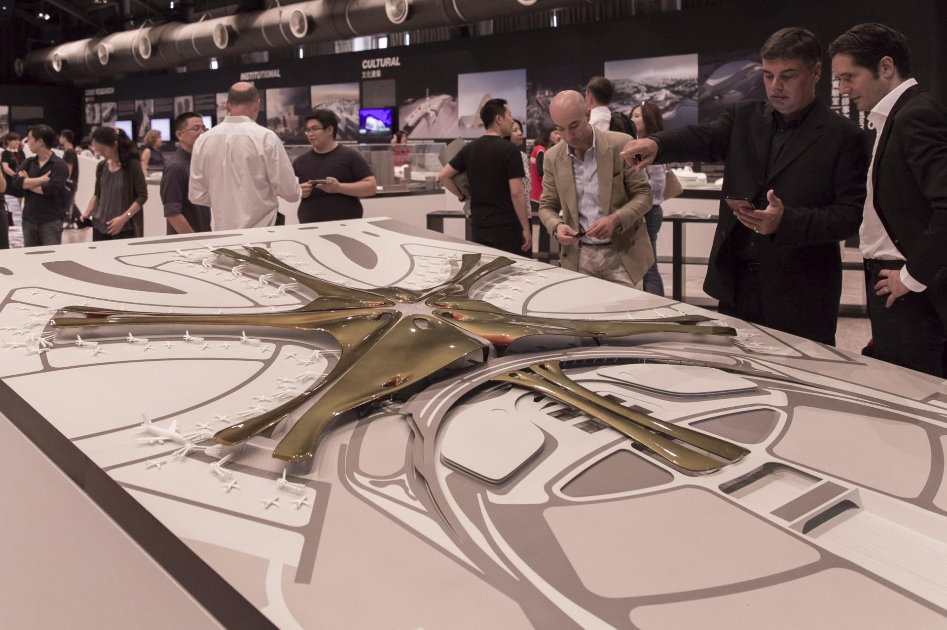 Ausstellung Global Design Laboratory Zaha Hadid Architects in Taipei