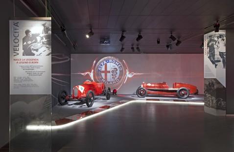 La Macchina del Tempo Historisches Museum Alfa Romeo in Arese
