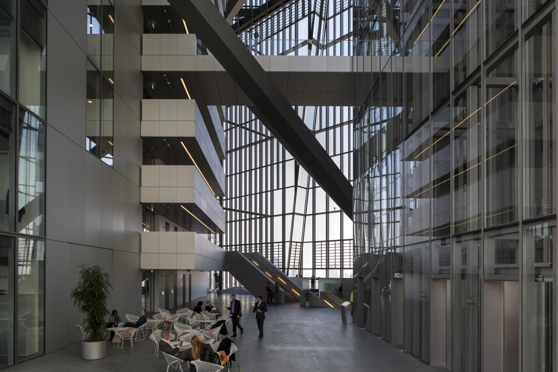 COOP HIMMELB(L)AU Sitz der EZB in Frankfurt