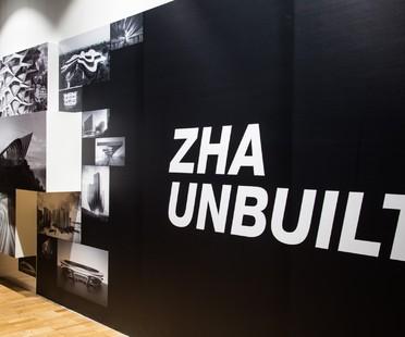 Ausstellung Zaha Hadid Architects: Unbuilt in der Jaroslav Fragner Gallery Prag