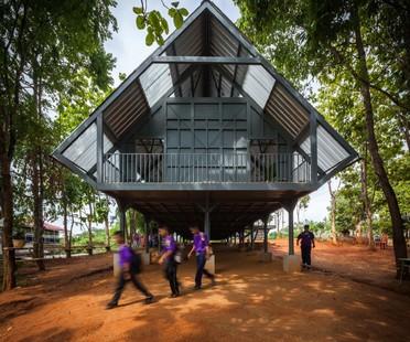 Post Disaster School von Vin Varavarn Architects gewinnt Biennale Cappochin 2017