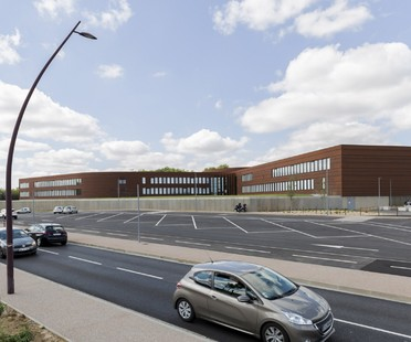 Kardham Cardete Huet Architecture Liceo Nelson Mandela a Pibrac