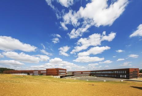 Kardham Cardete Huet Architecture Gymnasium Nelson Mandela in Pibrac