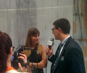 Iris Ceramica Group trifft die Presse auf der Cersaie 2017