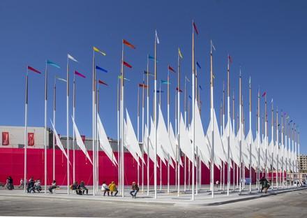 OBR Piazza del Vento ein neues städtisches Wahrzeichen für Genua