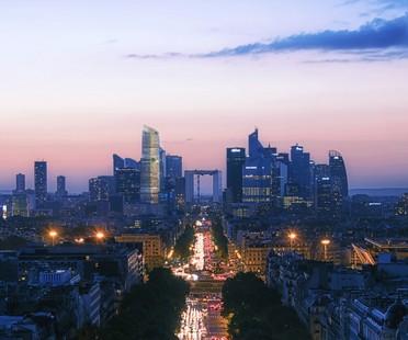 PCA-STREAM The Link neues urbanes Wahrzeichen für Paris