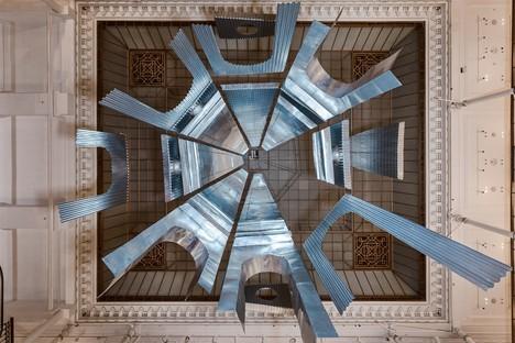 Edoardo Tresoldi Aura ortsspezifische Installation in Paris