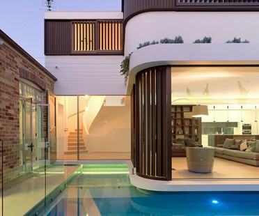 Luigi Rosselli Architects Pool House in Randwick