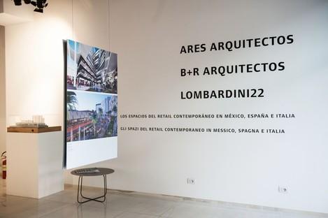 SpazioFMG Eröffnung der Ausstellung Gli spazi del Retail contemporaneo