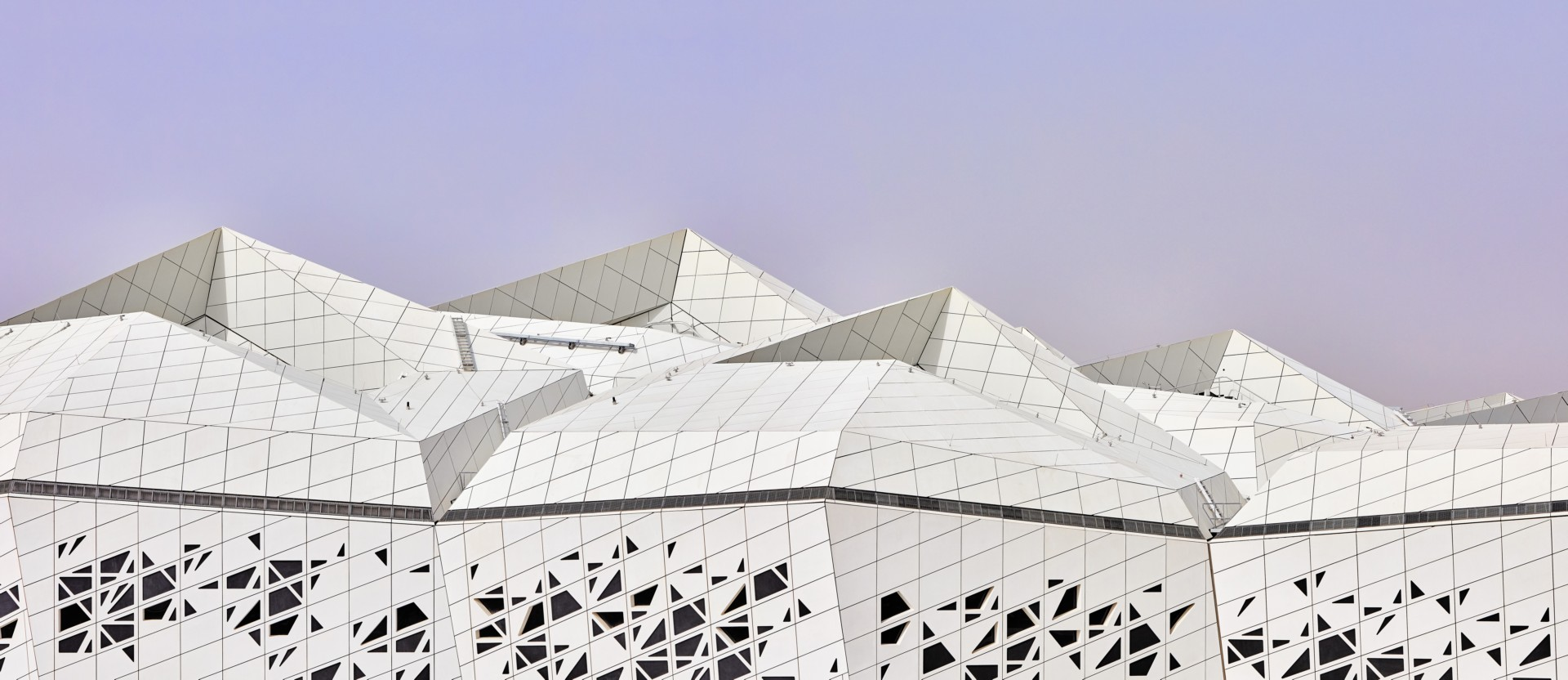 Zaha Hadid Architects Forschungszentrum KAPSARC Riyadh | Floornature