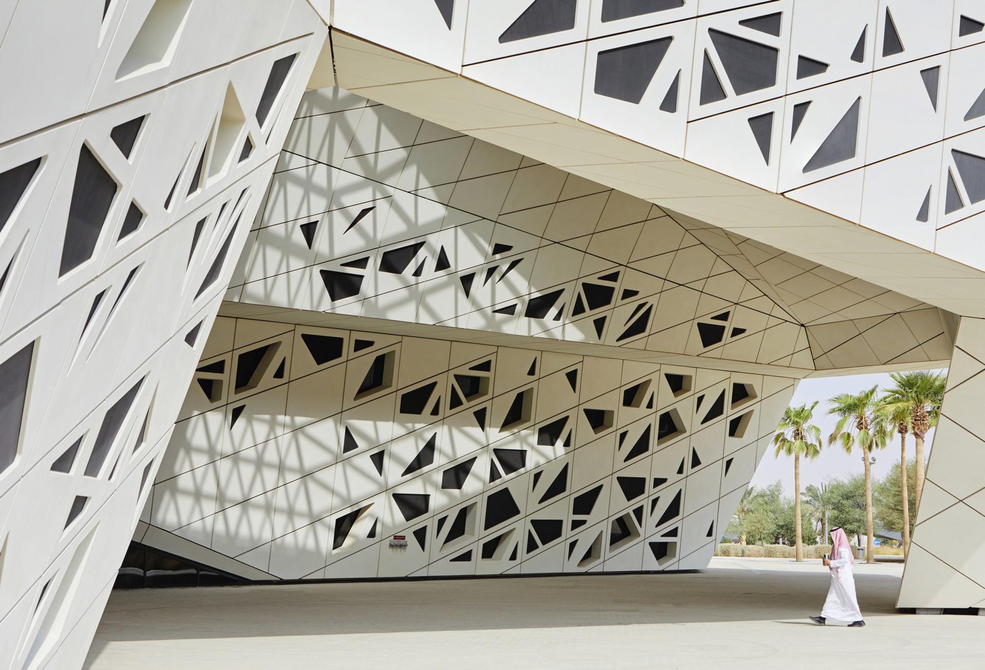Zaha Hadid Architects Forschungszentrum KAPSARC Riyadh | Floornature