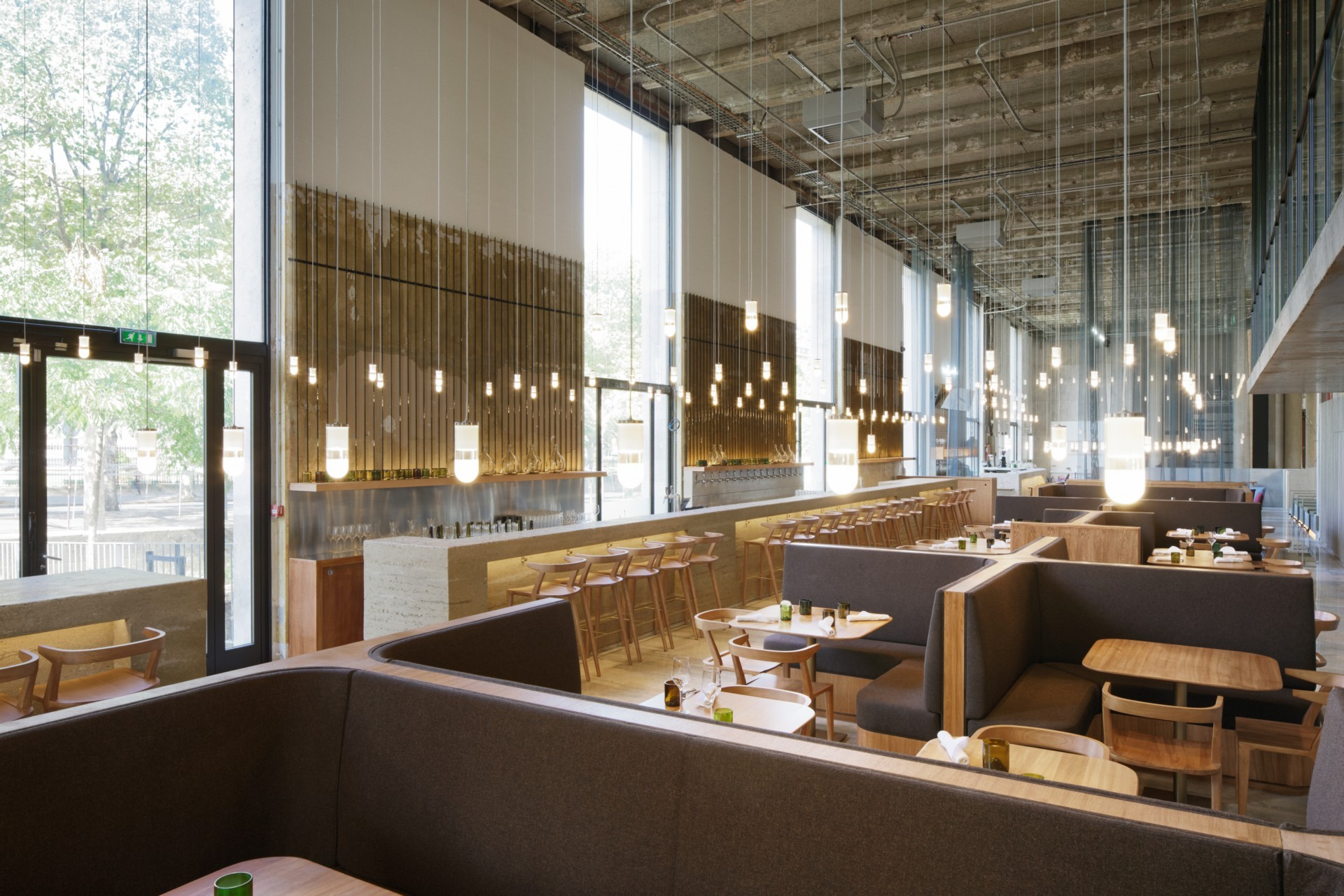 Lina Ghotmeh Architecture Restaurant Les Grands Verres Palais de Tokyo in Paris
